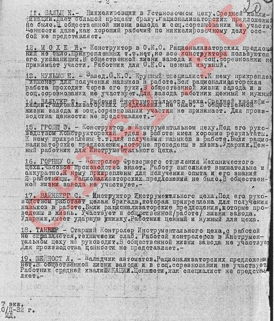 watermarked - Приложение список ин сотрудников на 1.2.1932 г 2 ГЧЗ 1 стр 20.jpg